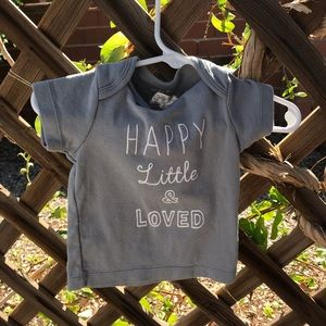 """""""Happy little and loved"""" shirt"""